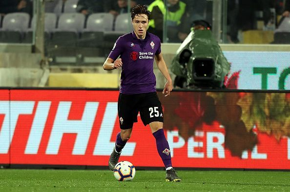 Federico Chiesa is one of the emerging talents of European football