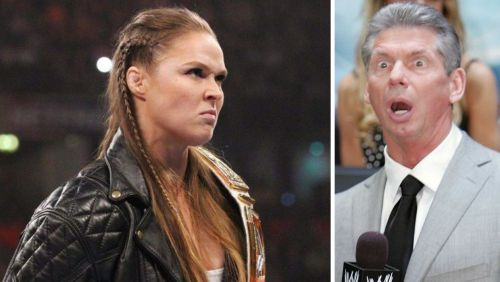 Rousey was not happy