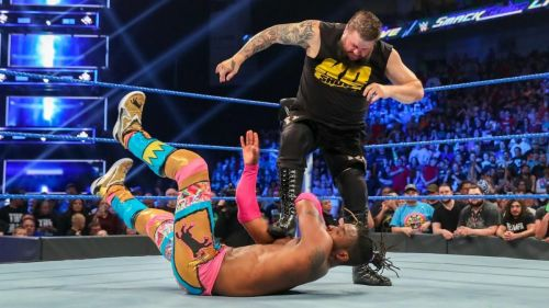 After aligning himself with the group last week, Kevin Owens has revealed his true colors, and has his eyes set on the WWE Championship.