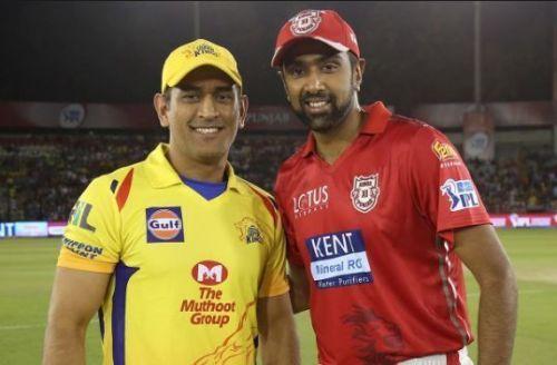 चेन्नई सुपर किंग्सऔर किंग्स इलेवन पंजाब के कप्तान
