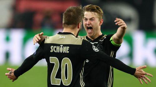Lasse Schone and Matthijs de Ligt - cropped