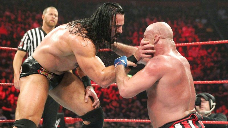Drew McIntyre was certainly a bad guy when he humiliated Kurt Angle late last year.