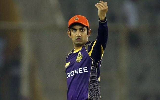 Gautam Gambhir is the leading run scorer in KKR vs DC matches at Eden Gardens (picture courtesy: BCCI/iplt20.com)