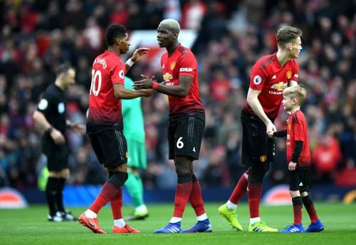 Paul Pogba is an important part of Manchester United