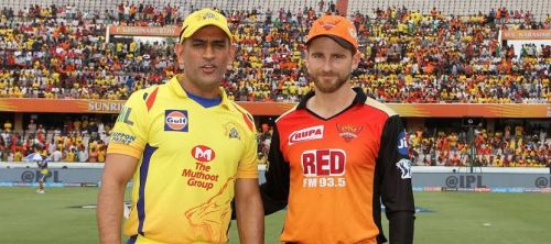 2018 Finalists Chennai Super Kings and Sunrisers Hyderabad will face-off in the 33rd fixture of IPL 2019.