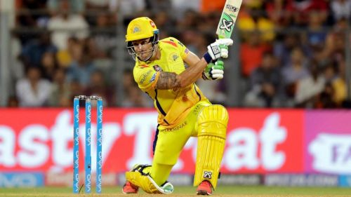 Faf du Plessis hasn't played a single game in IPL 2019