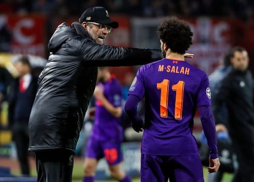 Mohamed Salah failed to score in his last eight outings for the Reds