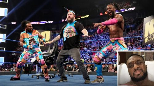Big E isn't thrilled with Owens joining The New Day