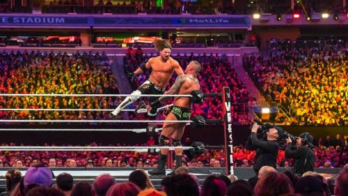 Styles and Orton put on a great match on the grandest stage of them all