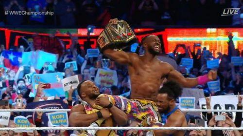 Image result for kofi kingston wwe champion