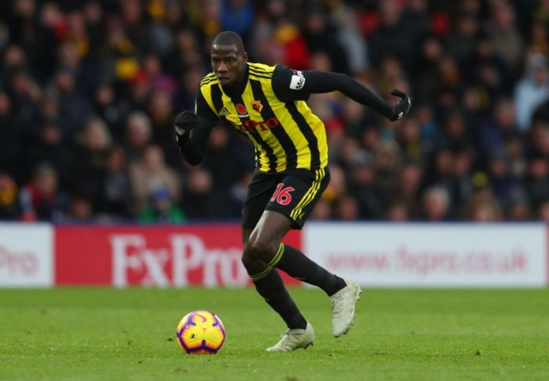 Abdoulaye Doucoure has been involved in 11 goals for Watford this season