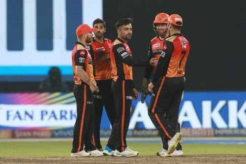 The Sunrisers Hyderabad team (picture courtesy: BCCI/iplt20.com)