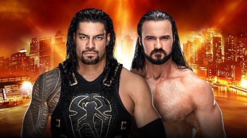 Roman Reigns competes in his second match on PPV since returning from Leukemia.