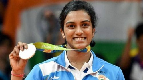 PV Sindhu at the 2016 Rio Olympics