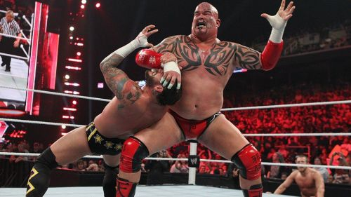The WWE had big things planned for Tensai, but he quickly fell down the card.