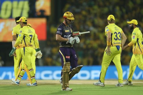 KKR batsmen failed to find any momentum against CSK [Image: BCCI/IPLT20.com]