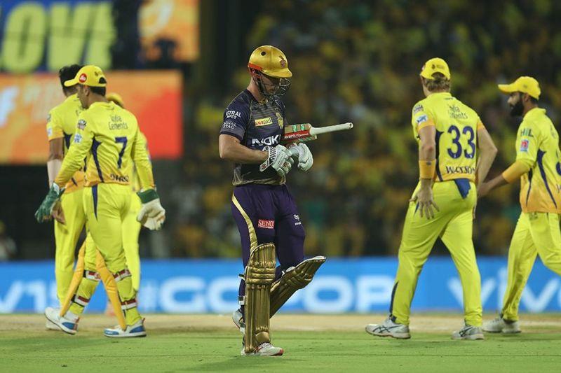 KKR batsmen failed to find any momentum against CSK [Image: BCCI/IPLT20.com]