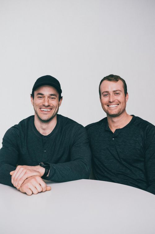 Beam co-founders Kevin Moran and Matt Lombardi / Photo courtesy of KLG Media Relations