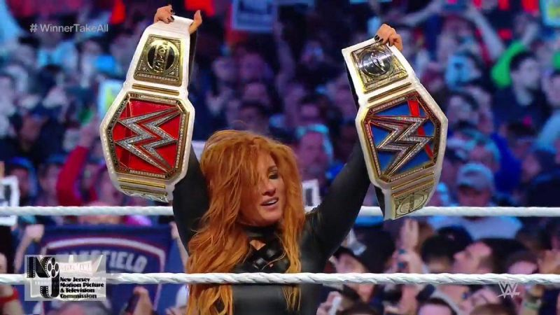 ee92bf2991b6 Was Becky Lynch supposed to win the Women s Championships at WrestleMania