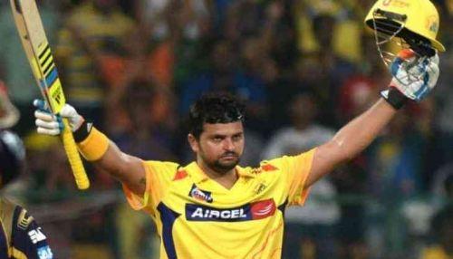 Suresh Raina is the leading run scorer in CSK vs KKR matches at MA Chidambaram Stadium.
