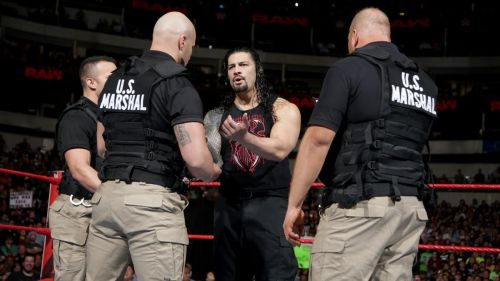 Roman Reigns attacked Vince McMahon on SmackDown Live