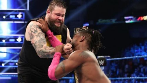 kevin owens turns heel attacking kofi kingston