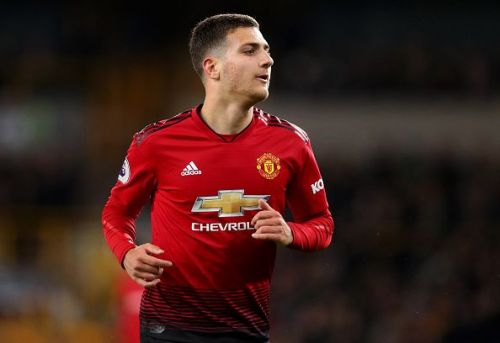 Dalot played out of position and looked out of pace