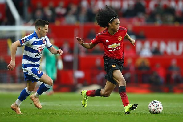 Chong has made a handful of appearances for the first team this season