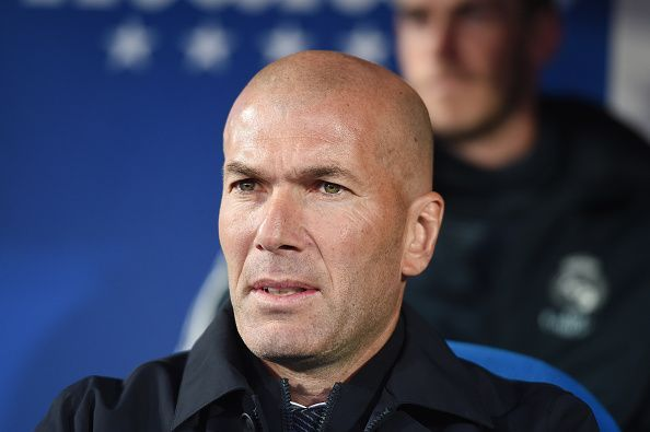 Real Madrid gaffer, Zinedine Zidane