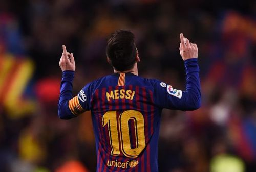 Messi is without a UCL quarterfinal goal for six seasons