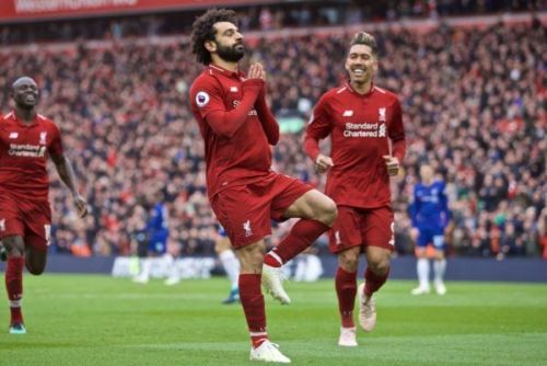 Mohamed Salah scored a brilliant goal in Liverpool's victory against Chelsea