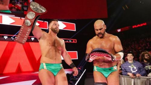 The Revival are the current RAW Tag Team Champions