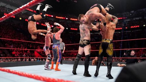 4 tag teams drafted to RAW