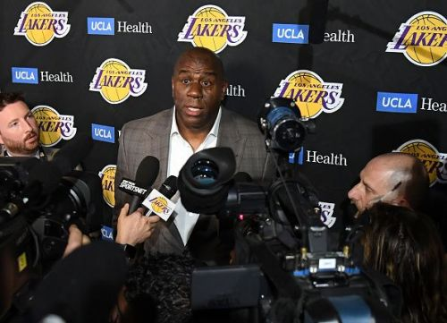 Magic Johnson has announced his surprise exit from the Los Angeles Lakers