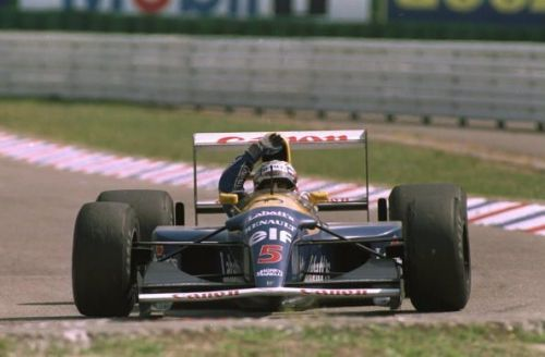 The FW14B Powered Nigel Mansell to his only driver's championship in 1992.