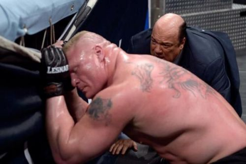 Are Brock Lesnar's days numbered?