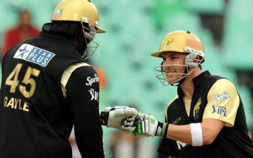 Gayle and McCullum