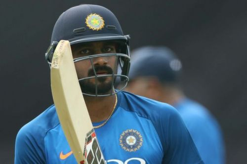 Image result for Vijay Shankar to start off as No. 4 as Ambati Rayudu faces axe