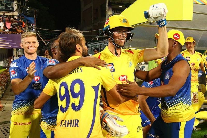 Santner has already won a match for CSK (Image courtesy: IPL T20.com/BCCI)