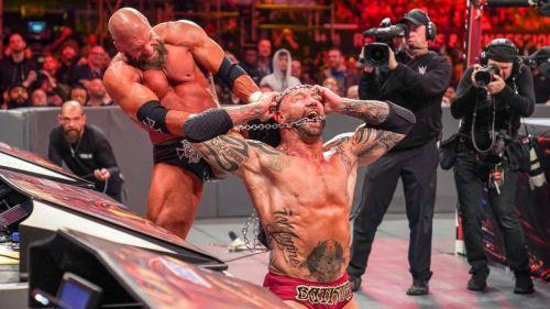 Batista called it a career at WrestleMania