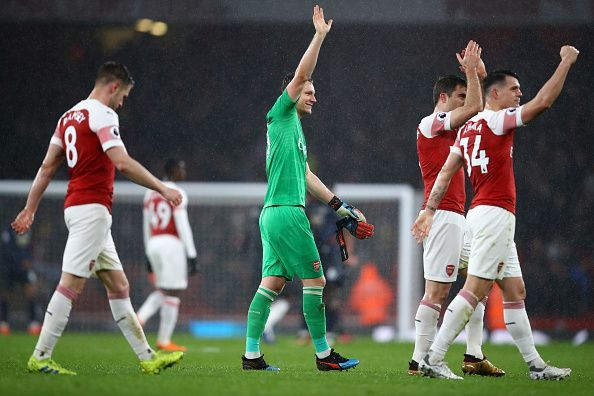 Arsenal have the chance to go into third courtesy a victory