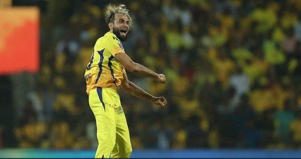 What a spell from Tahir !!! (Source: IPLT20/BCCI)