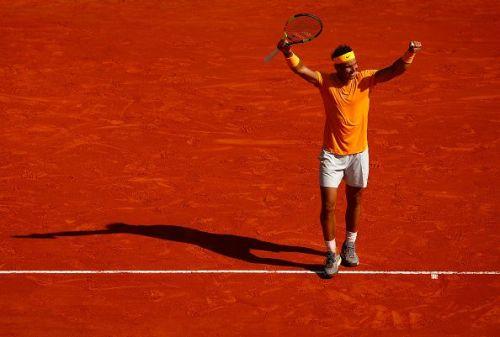 Monte Carlo Masters 2018: The winning moment in the finals against Nishikori