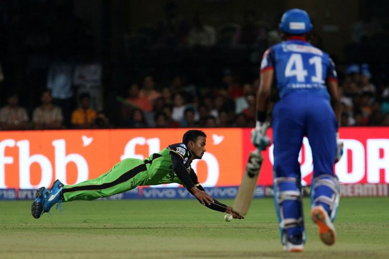 Pawan Negi was one of the better fielders for RCB in this match. (Image Courtesy: IPLT20)