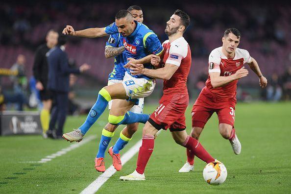 S.S.C. Napoli v Arsenal - UEFA Europa League Quarter Final: Second Leg.