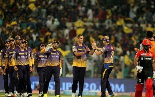 Royal Challengers Bangalore Vs Kolkata Knight Riders Match