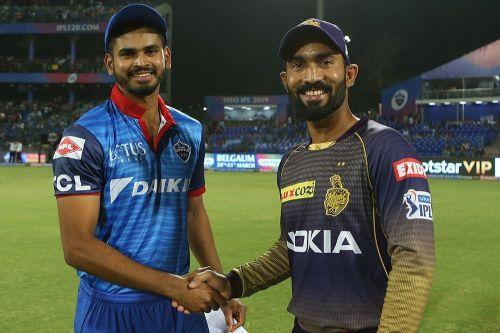 Kolkata Knight Riders vs Delhi Capitals (Source - iplt20/BCCI)