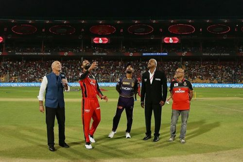 Kolkata Knight Riders will greet Royal Challengers Bangalore in the 35th fixture of IPL 2019.