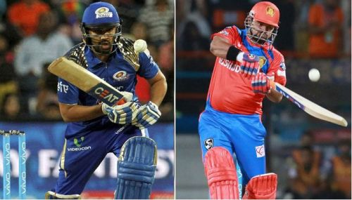 Rohit Sharma And Suresh Raina