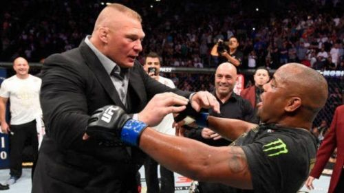 Lesnar will probably fight Cormier in August!
